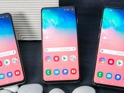 I tried the entire lineup of Samsung's new Galaxy S10 phones. Here's what they're like in person