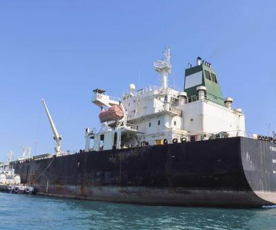 U.S. says Iran removed unexploded mine from oil tanker