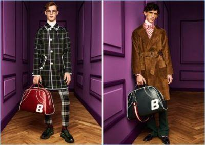 Bally Taps Into a 70s Attitude for Fall '17 Collection