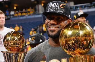 LeBron James: It's an honor to be chosen Sportsperson of the Year