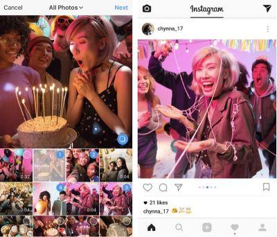 New Instagram Update Lets You Share Up to Ten Photos and Videos in One Post
