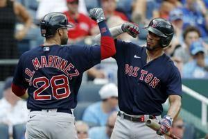 Dalbec's 3 hits, 3 RBIs lead Red Sox over Royals 7-1