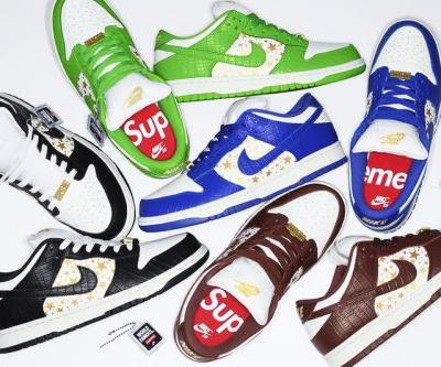 Supreme x Nike SB Dunk Low Spring/Summer 2021 Collaboration