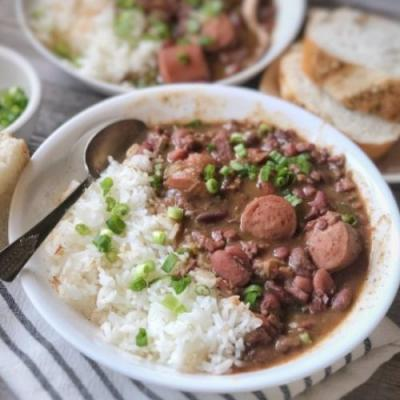 Amazing Homemade Red Beans and Rice