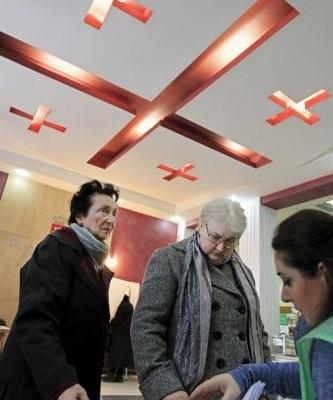 Georgians to vote in last direct election for president