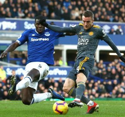 Everton 0 Leicester City 1: Vardy strikes in NYD scrap