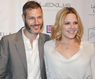 Mary McCormack says husband's Tesla car shot flames in traffic