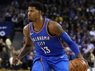 Paul George outscores Nets in fourth quarter to bring Thunder back to win