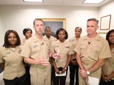 Navy allowing ponytails, braids in its updated women's hairstyle policy