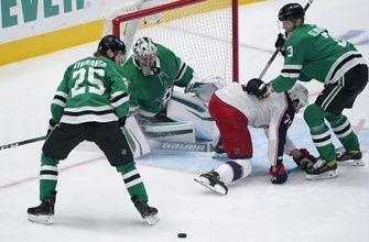 Blue Jackets hang on to edge struggling Stars 3-2