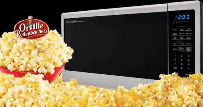 SHARP Orville Redenbacher Microwave Oven Giveaway