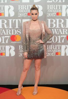 Katy Perry, Ellie Goulding, and More Stars' Most Revealing Dresses at the 2017 Brit Awards!
