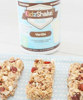 Protein Boost Granola Bar {With KidzShake}