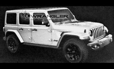 2018 Jeep Wrangler Possibly Exposed on a Forum Ahead of Official Debut