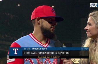 Rougned Odor: 'We never give up'