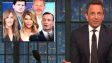 Seth Meyers Names The Cartoon Culprit In The College Admissions Scandal