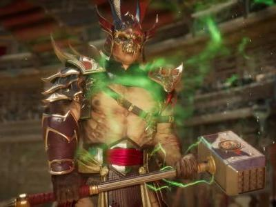 Shao Kahn looks to bring the BS to Mortal Kombat 11