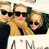 Adele, Jennifer Lawrence, and More Stars Took to the Streets For the 2018 Women's Marches