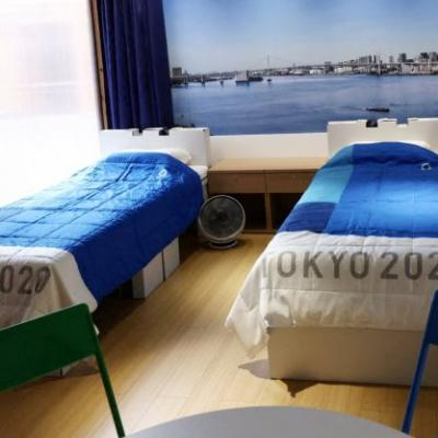 Why Are Olympians Sleeping On Cardboard Beds?