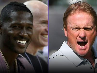 'Hard Knocks' Episode 2 recap: Antonio Brown bares soles for Raiders watchers; Jon Gruden swears he'll change