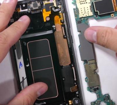 Whats Inside The Samsung Galaxy Note 9