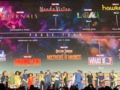 Fantastic Four, Mutants, and More: Marvel's Phase 4 Announced, and Here's When You'll See the New Movies & TV Shows