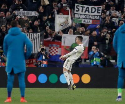 Ronaldo charged by UEFA for gesture mocking Simeone