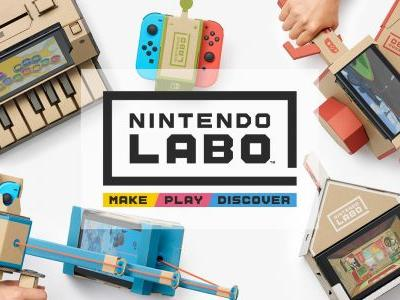 Nintendo Labo replacement parts won't break the bank