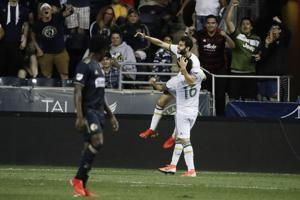 Timbers cap 12-game trip with 3-1 win over Union