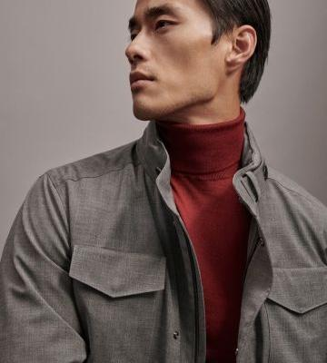 Zhao Lei Models New Year Styles for Massimo Dutti