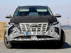 2021 Hyundai Tucson Spied Likely To Get A Hybrid Powertrain