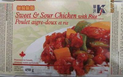 K.J. recalls chicken entrees for incorrect cooking instructions