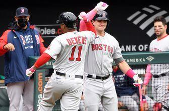 Rafael Devers homers, drives in three in Red Sox's 4-3 win over Orioles