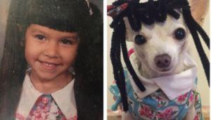 Student Pranks Parents By Replacing Family Photos With Pics Of Her Dog