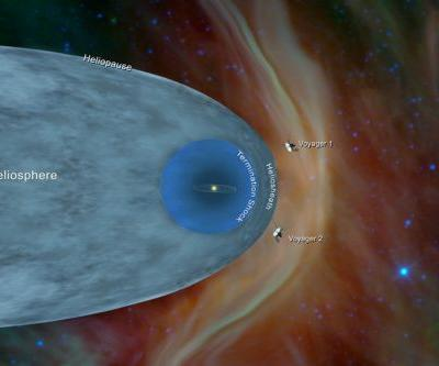Voyager 2 enters interstellar space, where only one spacecraft has gone before