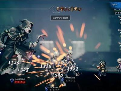Final Two Octopath Traveler Characters, Talent Mechanic Revealed