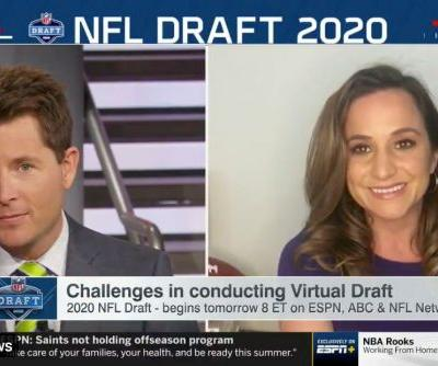 ESPN has technical difficulties while examining NFL Draft technical difficulties
