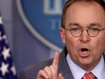 Mick Mulvaney reacted to being confronted with a recording of the quid pro quo comment he made on live TV, saying he didn't 'have a perfect press conference'
