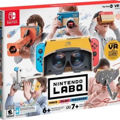 Nintendo Labo VR Kit For The Switch Announced