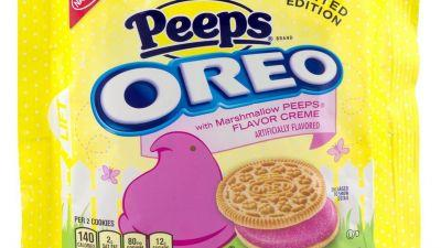 Brace Yourselves: Peeps Oreos Are Here