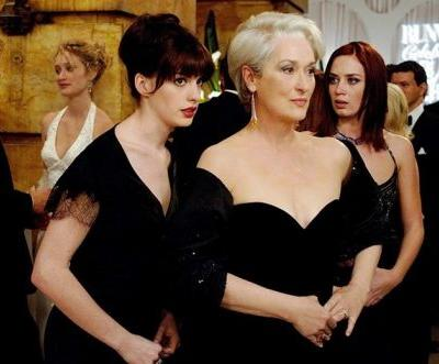 The Devil Wears Prada cast reunites to auction a Zoom call for charity