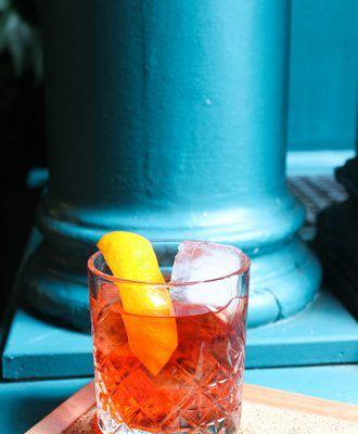 Rum Negroni from The Freehand New York