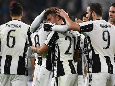 Juventus 4-1 Palermo: Dybala double helps to fire hosts further clear at the summit