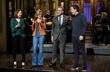 'The Office' Cast Urges Steve Carell to Sign On for a Reboot During 'SNL' Monologue