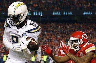 The Chargers pull off a game-winning 2-point conversion with 4 seconds left on the clock