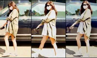 Pregnant Anushka Sharma looks fit as a fiddle in her latest photos; slays in casual cool outfit
