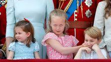 Prince George And His Cousin Steal The Show At The Queen's Birthday Celebration