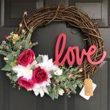 We Promise You Will Fall Head Over Heels in Love With These Valentine's Day Wreaths