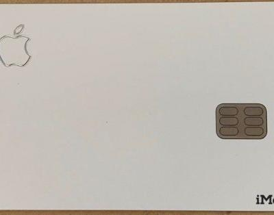 Leaked Images Show Apple Card's Design in the Wild