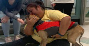 Oklahoma Woman Reunited With Dog She Hasn't Seen In 10 Years